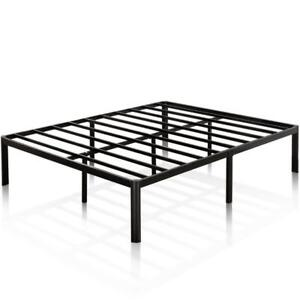 "New Zinus 16"" Metal Platform Bed Frame w/ Steel Slat Support, Queen (Pick-up Only) - DI1"
