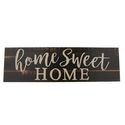 Used, Home Sweet Home-Rectangle Wooden Sign Housewarming Gift Home Decoration for sale  Shipping to Canada