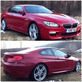 BMW 640D M Sport Auto Adapptive LED Headlamps / / 360 Camera - Exceptional Condition -