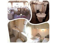 COMFY CARAVAN FOR HIRE IN TOWYN,NORTH WALES DATE AVAILABLE IS 24THJUNE-1STJULY