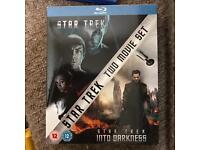 Star Trek movie box set. Blu ray