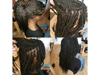 BOXBRAIDS and TWISTS at MARNORPARK