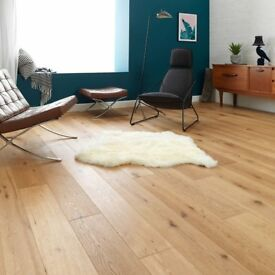 Woodpecker Chepstow Rustic oiled engineered oak wood flooring