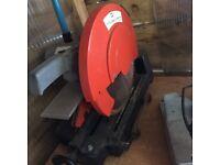 "SIP 14.0"" Abrasive METAL Cut-Off Saw (230v) Dry Metal Cutting Saw."