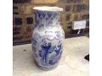 Selection of Blue & White Vases