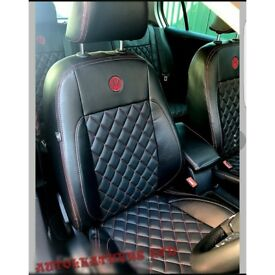 CAR LEATHER SEAT COVERS FOR VOLKSWAGEN SHARAN VOLKSWAGEN TOURAN VOLKSWAGEN PASSAT VOLKSWAGEN PASSAT