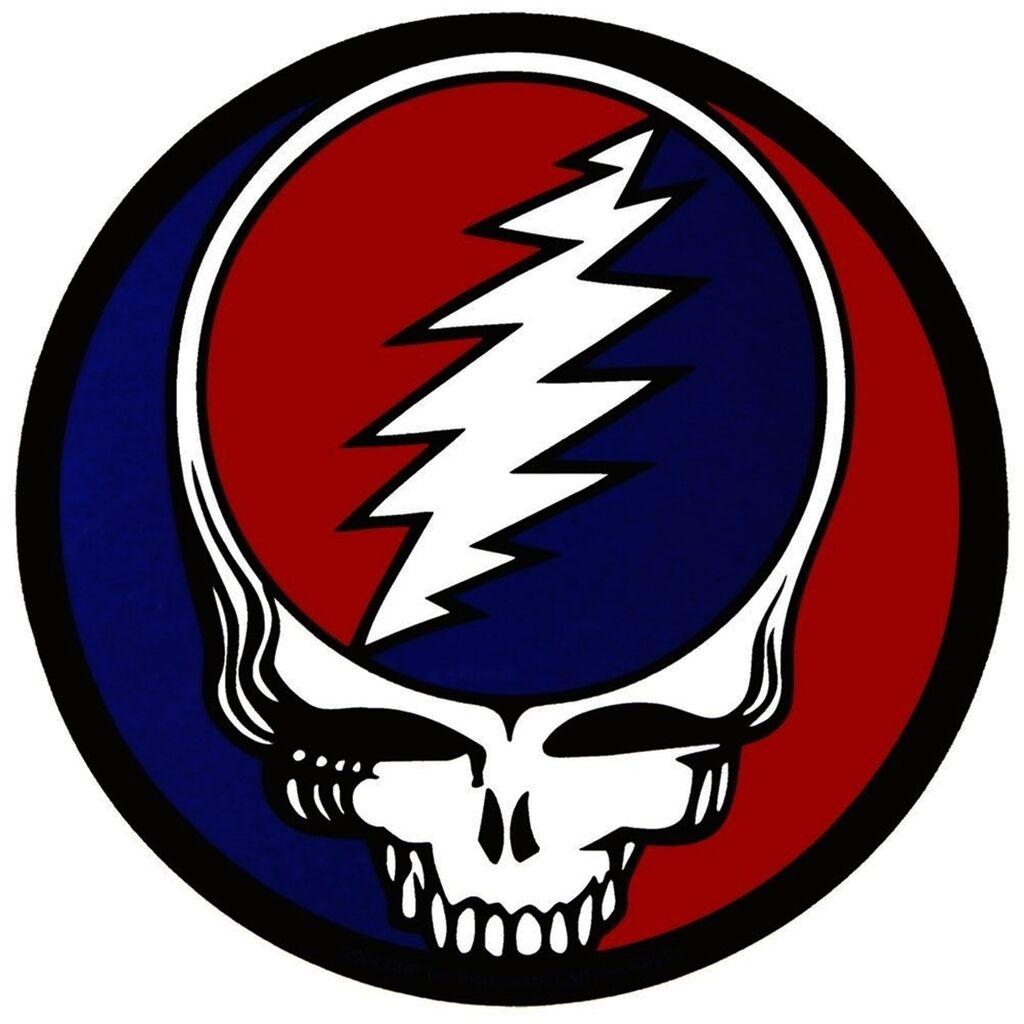 Grateful Dead Steal your Face Vinyl Bumper Sticker Decal Rock n Roll Hippie