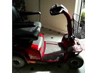 Large mobility scooter