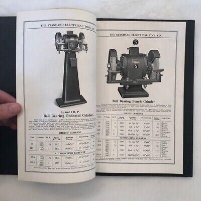 STANDARD Drill ELECTRICAL TOOL Co Catalog VINTAGE ADVERTISING Cincinnati Ohio