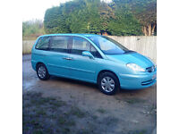 Citroen C8 LX, 7 Seater, 04 Reg, 64,000 mile,Full Service History, High Spec, 1 Owner from New £1495