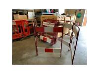 Metal barriers job lot