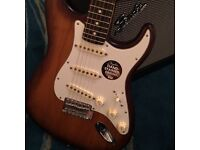Fender American FSR Stratocaster with upgraded Callaham complete bridge set