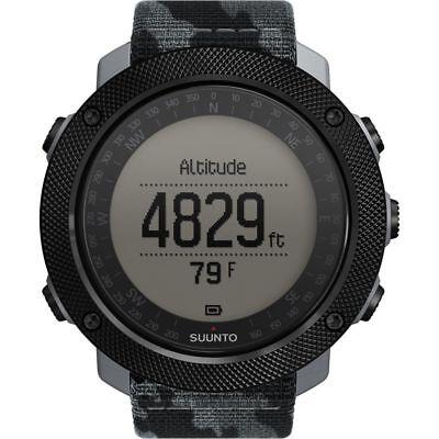 Suunto Traverse Alpha Concrete Mens GPS Outdoor Wrist Watch - SS023446000