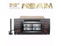 "AUDIO LOCKDOWN E10 - BMW E53/X5/E39/RANGE ROVER 7""HD Touch Screen DVD Player DAB Function GPS Canbus"