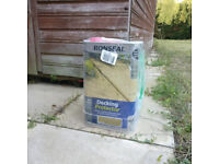 Ronseal Garden Decking cleaner and Protector