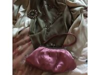 Bag, shoes, jewelry