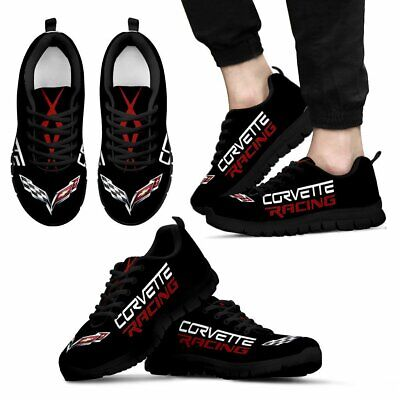 Corvette C7 Racing,Z06,ZR1 -Top Men's Shoes-Free shipping-Best gift for