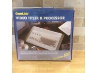 Video Titler & Processor Vision 500