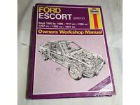 Ford escort mk3/4 Haynes manuel
