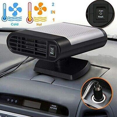 150W Portable Car Heater Warmer Heating Fan Auto Window Glass Defroster Demister
