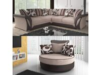 BRAND NEW SHANNON CORNER & 3+2 SEATER SOFA SET AVAILABLE IN STOCK ORDER NOW...!!!!!