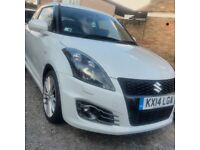 2014 White Suzuki Swift Sport For Sale.
