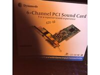Dynamode 6-Channel PCI Sound Card S-PCI-6WCH.