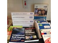 IAB Bookkeeping Level 3 study booklets and reference literature