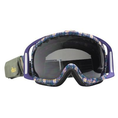 Oakley 57-092 DANNY KASS CROWBAR Grunge w/ Dark Grey Lens Mens Snow Ski Goggles for sale  Shipping to United States