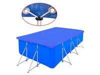 Pool Cover PE Rectangular 90 g/sqm 540 x 270 cm-90592