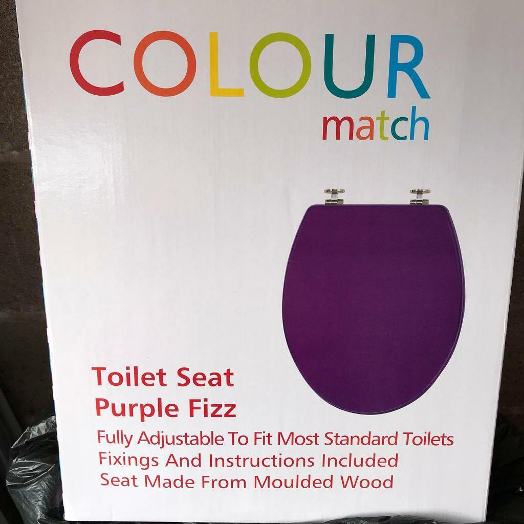 Brand New In Box Argos Colour Match Toilet Seat In
