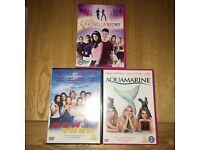 Girls DVD's