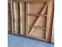 Wooden Storage Boxes/Garden shed/Bike garage/