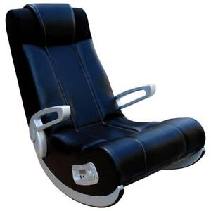 X-Rocker II SE Ergonomic Rocker Gaming Chair with Built-In Speaker - Black Model #: 5127301
