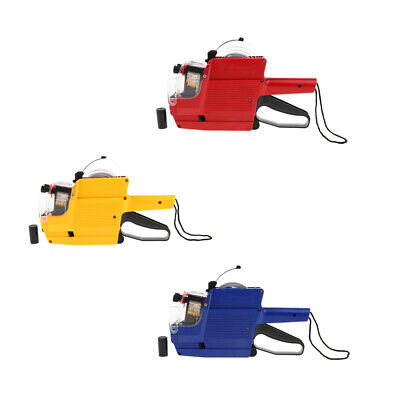 Mx-6600 10 Digits 2 Lines Price Tag Gun Labeler Especially Suitable For Small