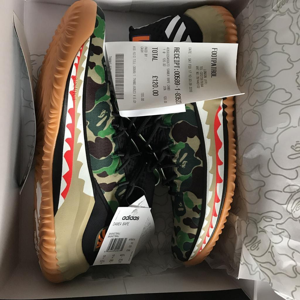 d5473f45 Nike x bape dame 4 green camo | in Forest Gate, London | Gumtree