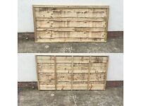 🌳Wooden High Quality Pressure Treated Fence Panels = Wayneylap