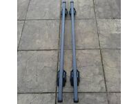 Roof Bars for Audi A3 Sportback with Roof Rails Mont Blanc Lockable - Excellent Condition