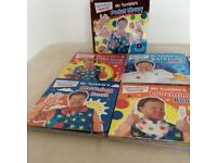 Something Special Mr Tumble's Pocket Library 6 Hardback Books CBeebies