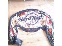 NEW HARD ROCK navy scarf, unused gift