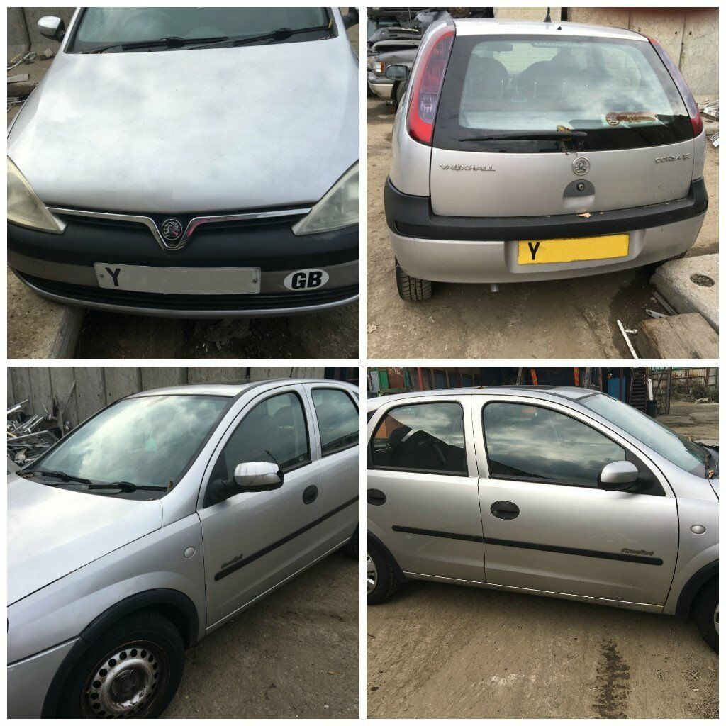 Vauxhall Corsa 2001 4 Door Silver All Parts Available