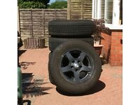 wheels and tyres for jeep grand cherokee 17 inch
