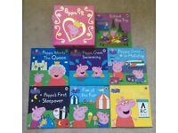 8 Peppa Pig books