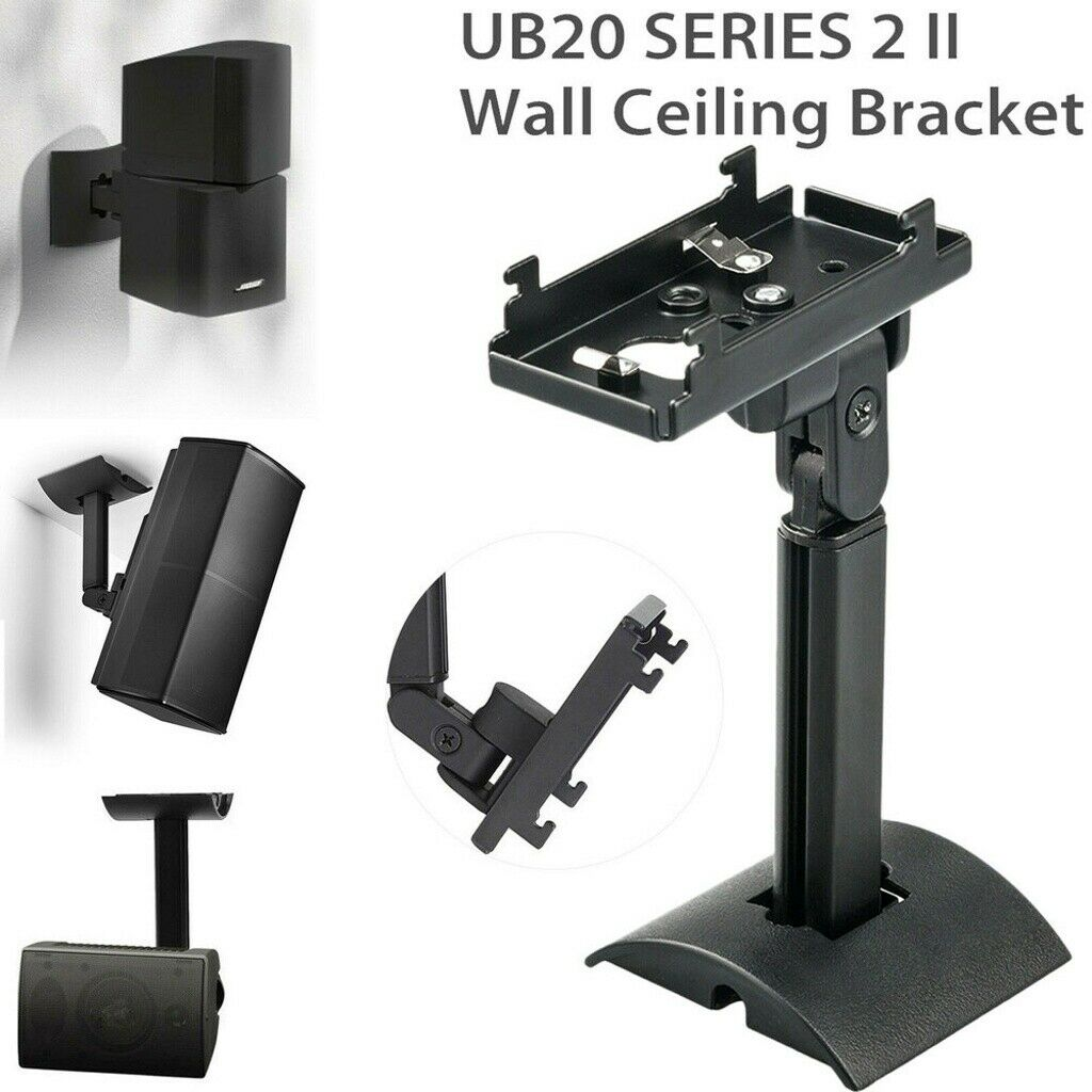 Wall Mount Ceiling Bracket for Cinemate UB20 SERIES 2 II Bose Easy Install