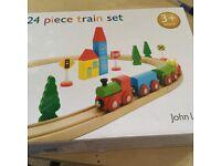 24 piece train set