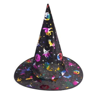 Stoff Halloween Zauberer Hut Hexenkostüme für Jungen und Mädchen