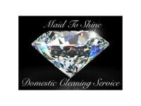 Maid To Shine Domestic Cleaning and Ironing Services