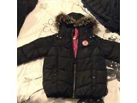 Girls converse winter casual coat