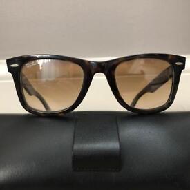 Genuine Wayfarer RayBan Sunglasses