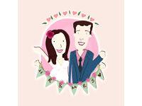 Personalized Artwork- Valentines, Birthdays etc